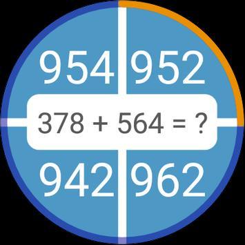 Permainan matematik: aritmetik, matematik mental syot layar 13