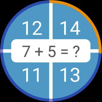 Permainan matematik: aritmetik, matematik mental syot layar 8