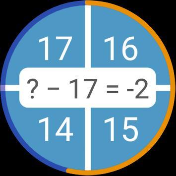 Permainan matematik: aritmetik, matematik mental syot layar 9