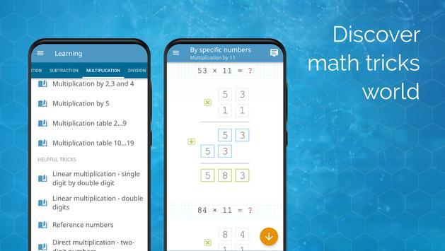 गणित व गणित के दिमागी खेल पोस्टर