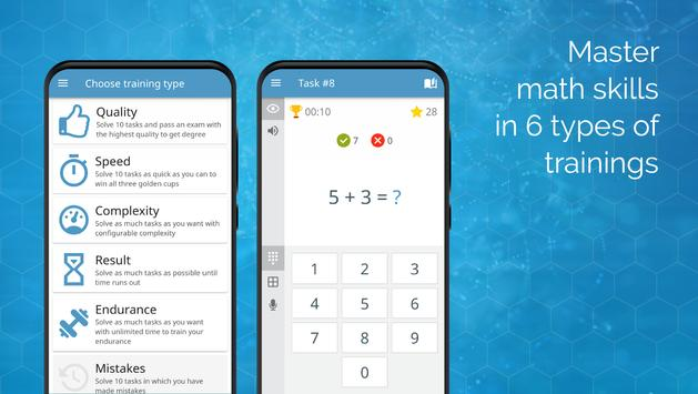 गणित व गणित के दिमागी खेल स्क्रीनशॉट 8
