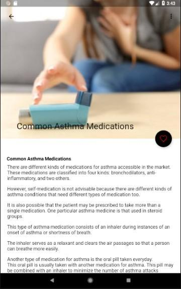 Asthma Medications, Asthma Causes for Android - APK Download