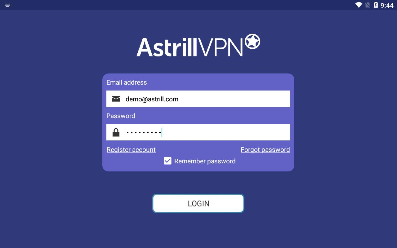 Astrill VPN for Android - APK Download