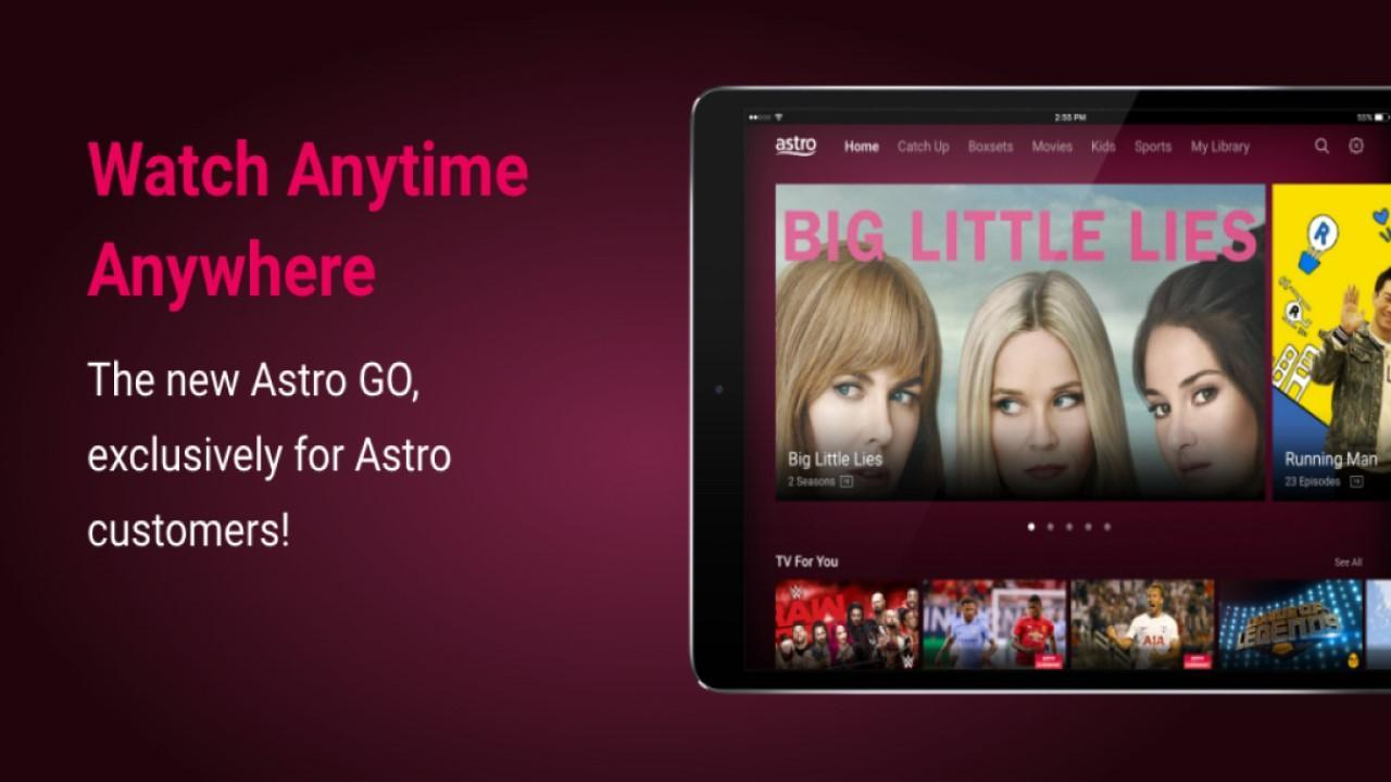 Astro GO - Watch TV Shows, Movies & Sports LIVE for Android - APK