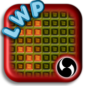 Nerds Binary LED Clock LWP icon