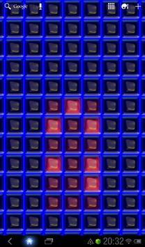 Nerds Binary LED Clock LWP screenshot 1