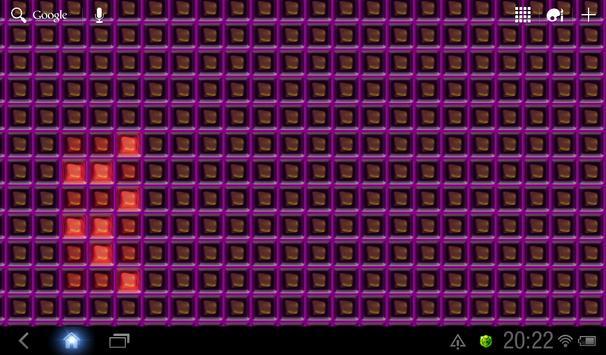 Nerds Binary LED Clock LWP screenshot 3