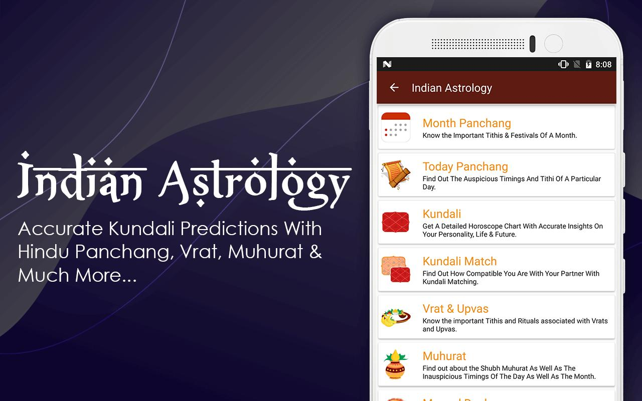 Kundli Matching Software, Zodiac Signs & Horoscope for Android - APK