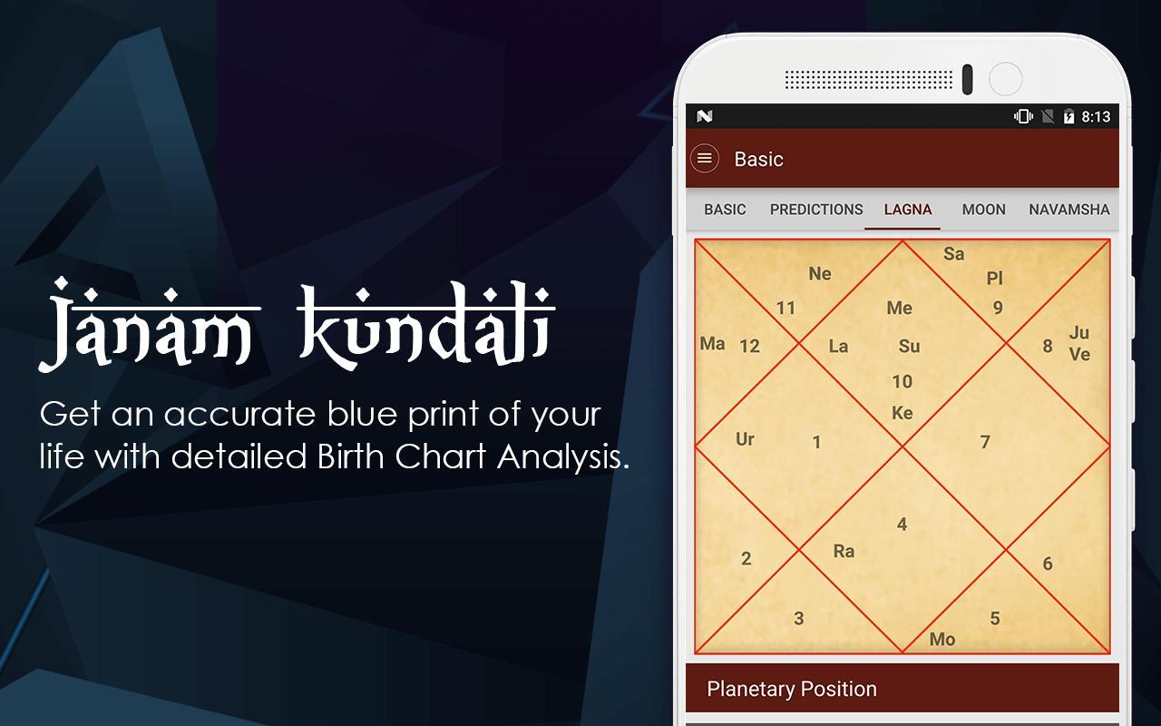 Janam Kundali match Making Software Téléchargement gratuit