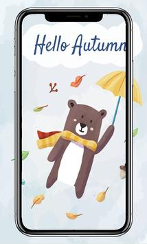 Cute Animals Card Wallpaper screenshot 12
