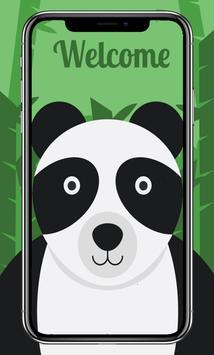 Cute Animals Card Wallpaper screenshot 2