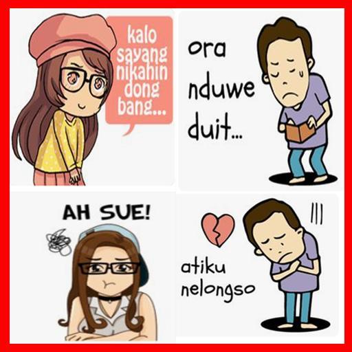 Stiker Gambar Lucu Bahasa Jawa For Android Apk Download