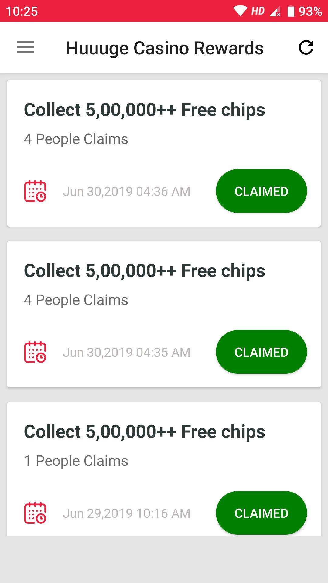 Huuuge Casino Free Chips L