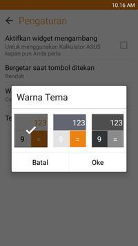 Kalkulator – Widget dan Apung screenshot 3