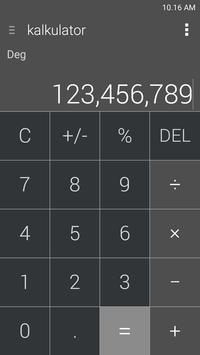 Kalkulator – Widget dan Apung screenshot 4