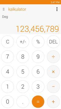 Kalkulator – Widget dan Apung screenshot 5