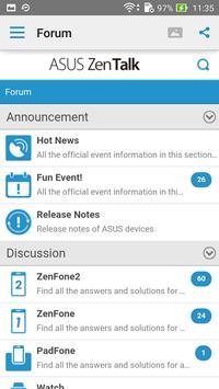ASUS ZenTalk Community screenshot 2