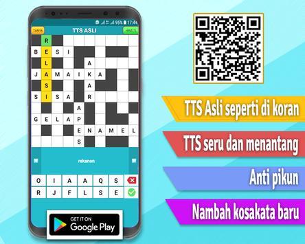 TTS Asli - Teka Teki Silang Pintar 2020 Offline screenshot 6