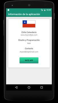 Chile Calendario 2020 screenshot 3