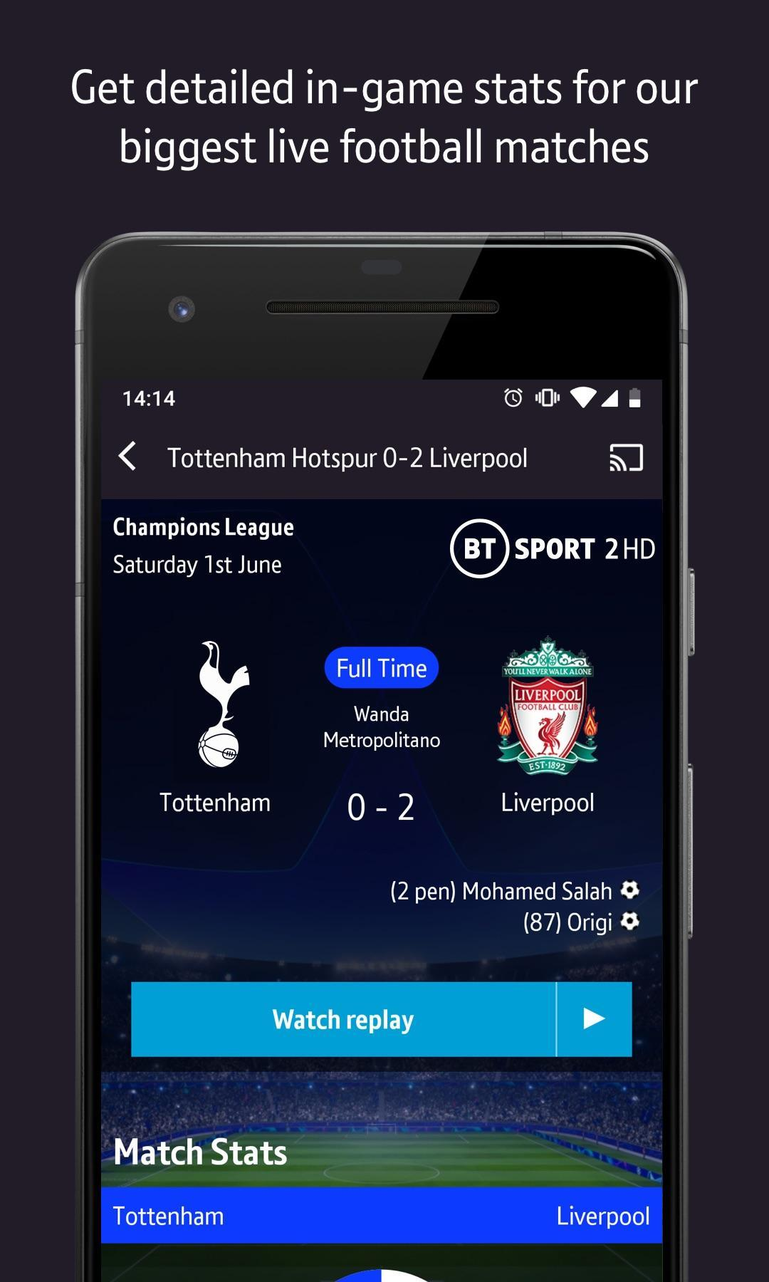 BT Sport for Android - APK Download