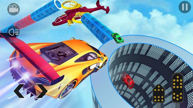 Crazy GT Car Stunts Simulator: Ramp Car Stunts poster