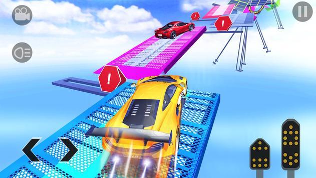 Crazy GT Car Stunts Simulator: Ramp Car Stunts screenshot 4