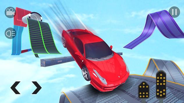 Crazy GT Car Stunts Simulator: Ramp Car Stunts screenshot 9