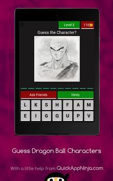 Guess The Dragon Ball Characters screenshot 13