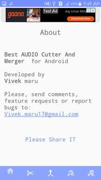 MP3 Cutter & Joiner screenshot 5