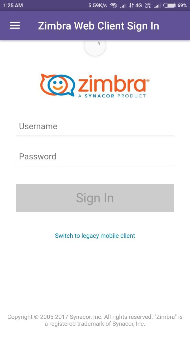 Zimbra Mail for Android - APK Download