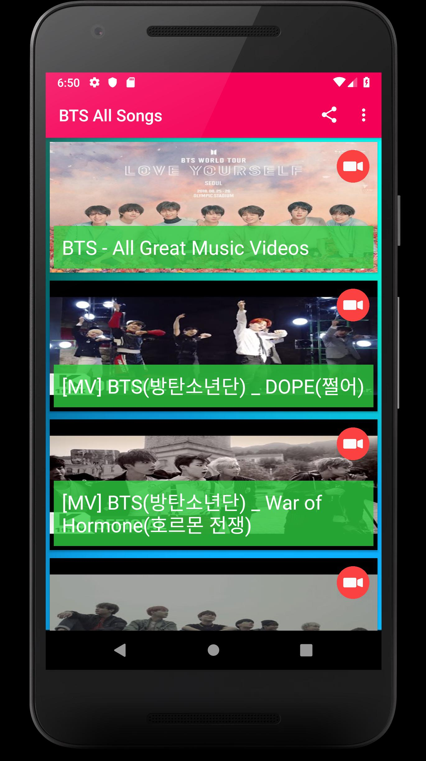 BTS All Music Video 2019 for Android - APK Download