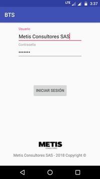 BTS (Bus Ticket System) screenshot 1