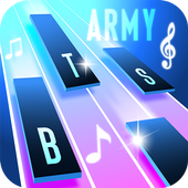 BTS Army Magic Piano Tiles 2019 - BTS Army games