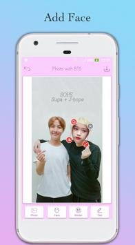 Photo with BTS Idol - Face Switch BTS screenshot 5