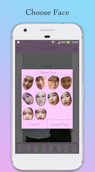 Photo with BTS Idol - Face Switch BTS screenshot 2
