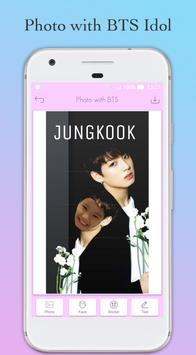 Photo with BTS Idol - Face Switch BTS screenshot 3