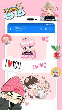 BTS Stickers & Photo Editor For Army ảnh chụp màn hình 2