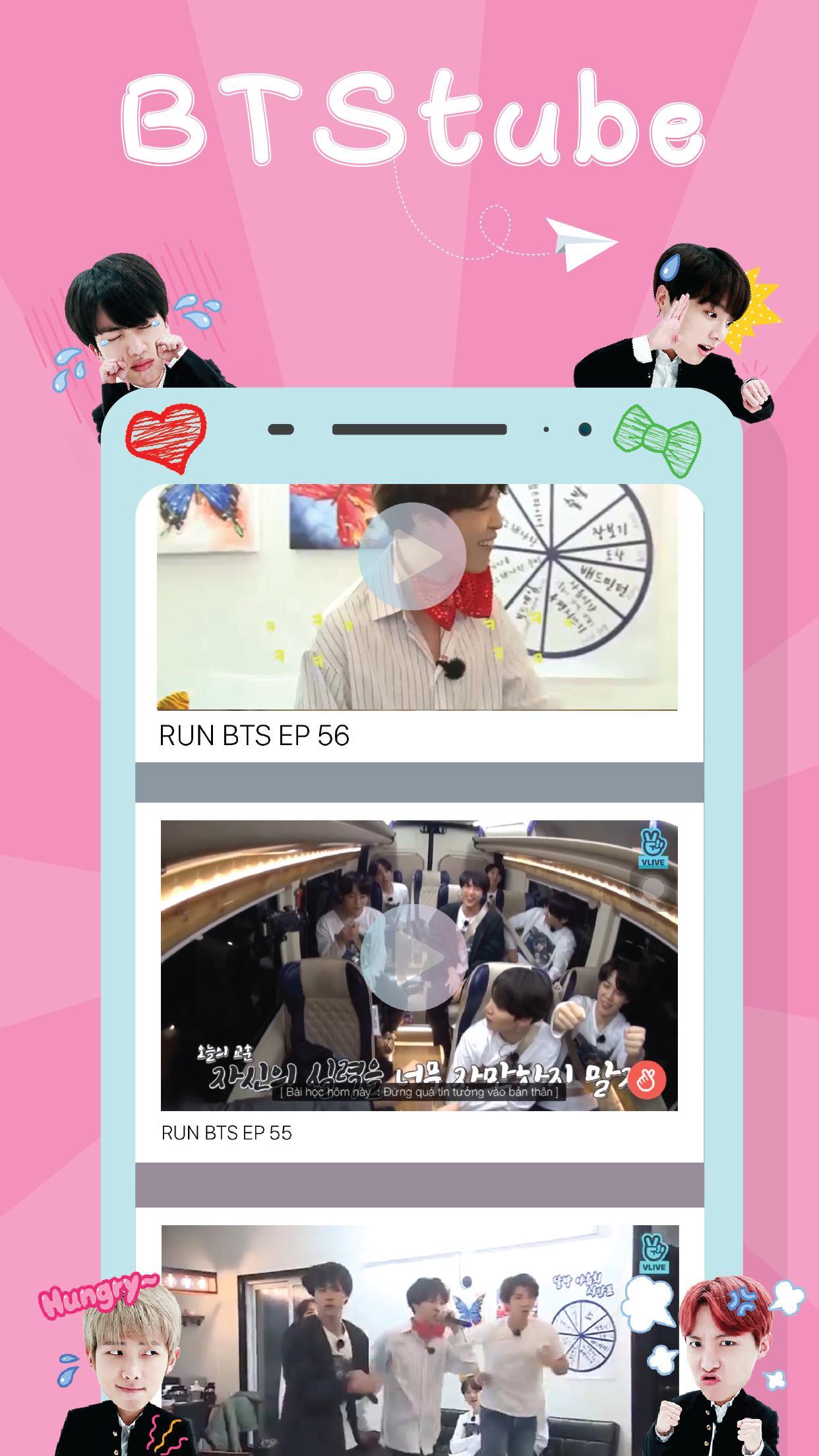 BTStube - BTS Kpop Videos For Fan for Android - APK Download