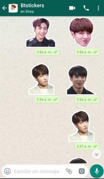 BTS Stickers WhatsApp ảnh chụp màn hình 1