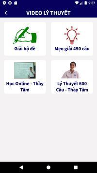 Tập Lái - Ôn Thi GPLX 600 Câu ảnh chụp màn hình 1