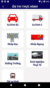 Tập Lái - Ôn Thi GPLX 600 Câu ảnh chụp màn hình 3