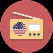 USA Radio Player icon