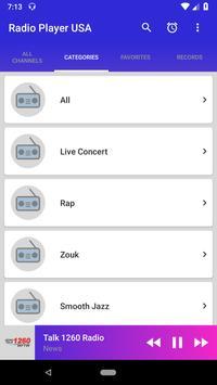 USA Radio Player screenshot 2