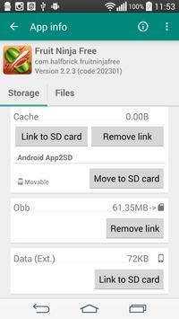 Link2SD captura de pantalla 2