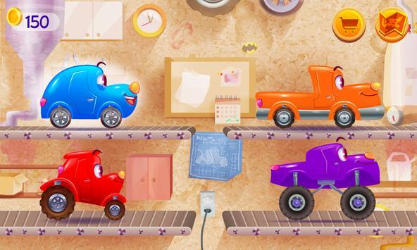 Funny Racing Cars ảnh chụp màn hình 1