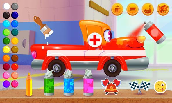 Funny Racing Cars ảnh chụp màn hình 2
