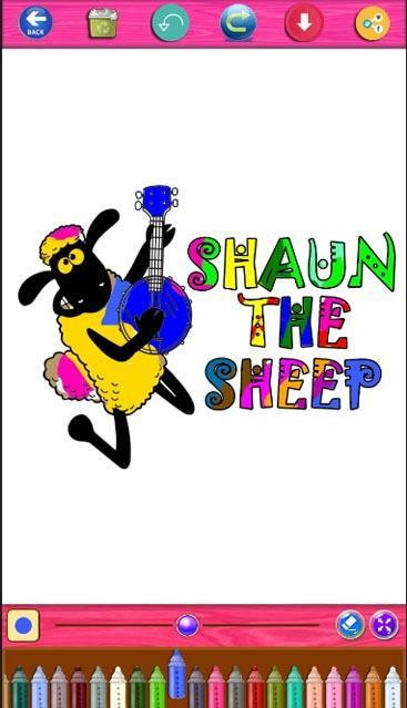 Shaun The Sheep Coloring For Android Apk Download
