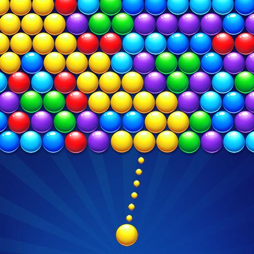 バブルシューター-中毒性のバブルポップパズルゲーム
