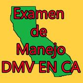 Examen de manejo DMV en CA icono