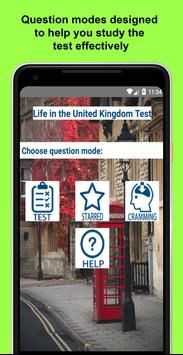 Life in the UK Test poster